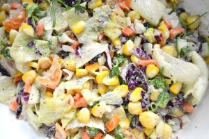 Healthy Mixed Vegetable Salad